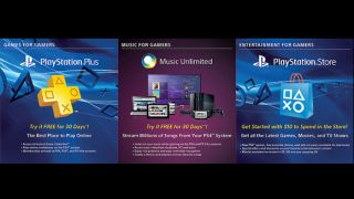 Sony PS4 vouchers