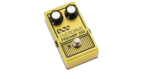 Like most of the DOD pedal range, the Preamp 250 keeps the control layout simple