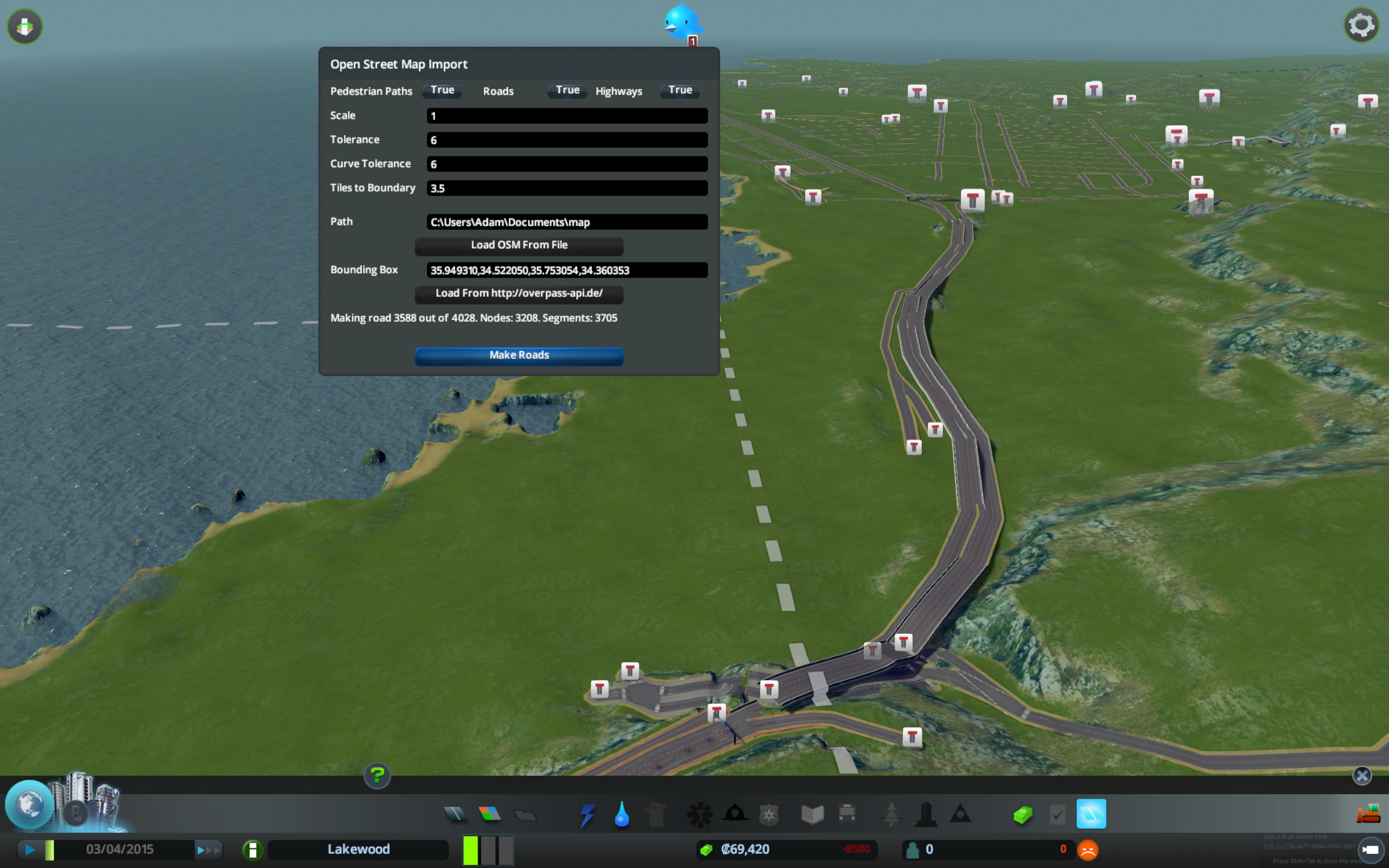 Cities skylines mod lets you export your city as a real world map cities skylines mod lets you export your city as a real world map pc gamer gumiabroncs Gallery