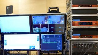 AV routing at the Intel Extreme Masters Championship (IEM) 2019 in Katowice, Poland, employing several Focusrite RedNet components .
