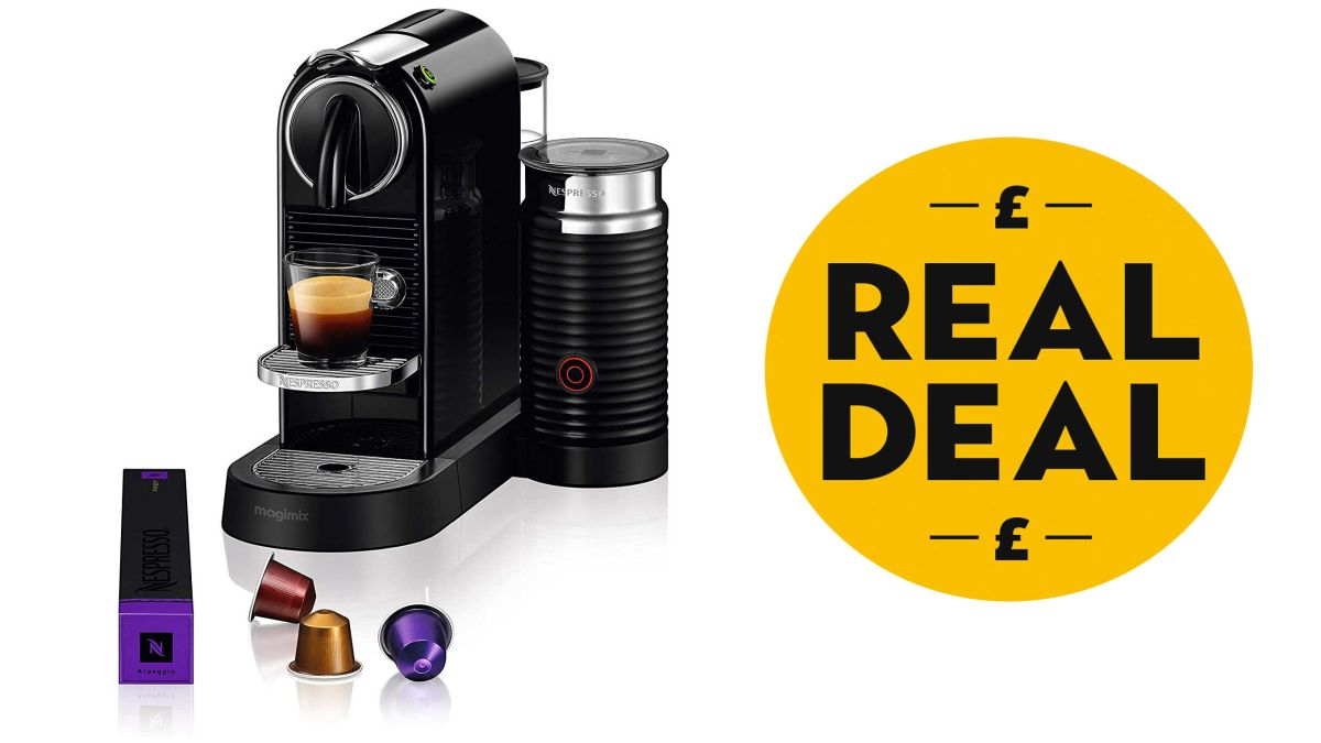 The Nespresso CitiZ is on sale at Amazon! January sales don't get much better than this...