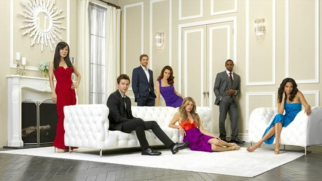 Alyssa Milano, Yunjin Kim And The Rest Of The Mistresses Cast Pose For Glamorous Photos #25957