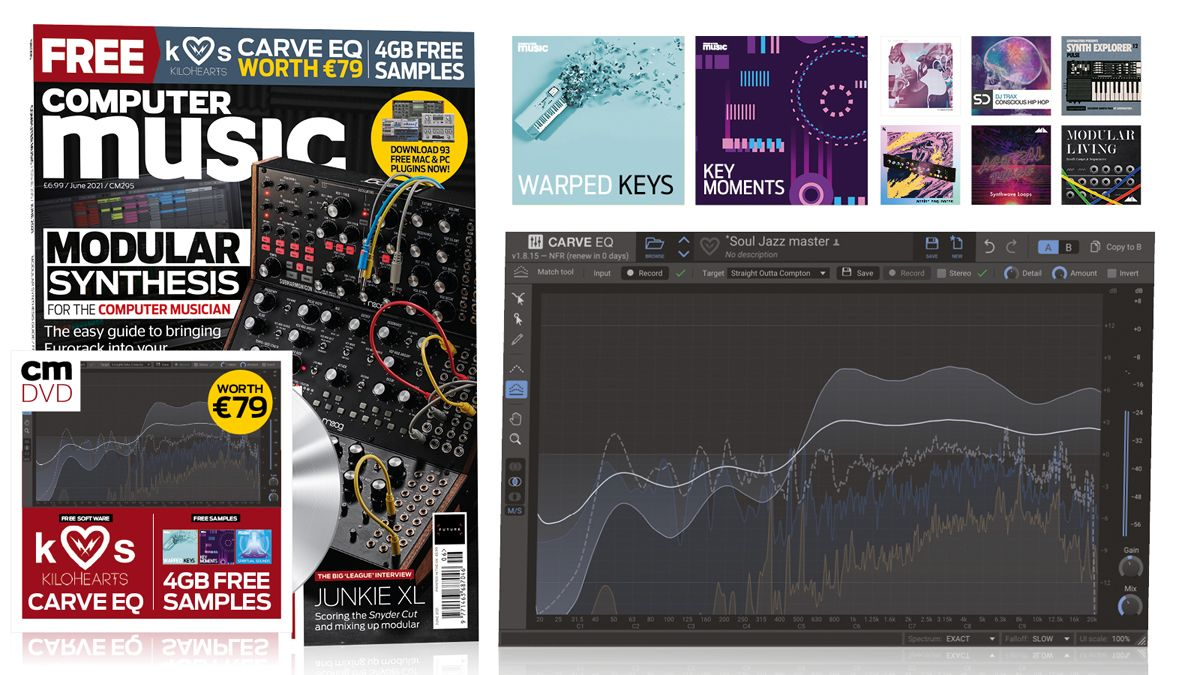 Everything you ever wanted to know (but were afraid to ask) about modular/Eurorack synthesis in the June 2021 Computer Music!