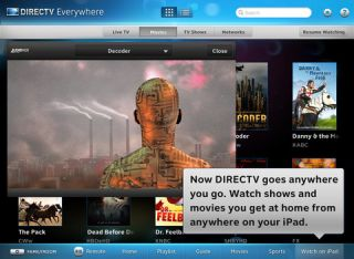 DirecTV iPad app adds on-the-go video""