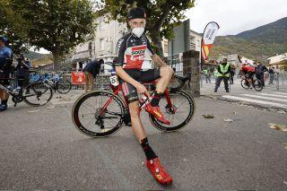 Cycling: Vuelta España 2020 / Tour Spain 2020 / 6 Etapa / 6 Stage / SING CONTROL / CONTROL de FIRMA / MARCZYNSKI, Tomasz (POL) / Biescas - Formigal (146,4 km) 25-10-2020 / Cycling: Vuelta España 2020 / Tour Spain 2020 / 6 Etapa / 6 Stage / ©PHOTOGOMEZSPORT2020