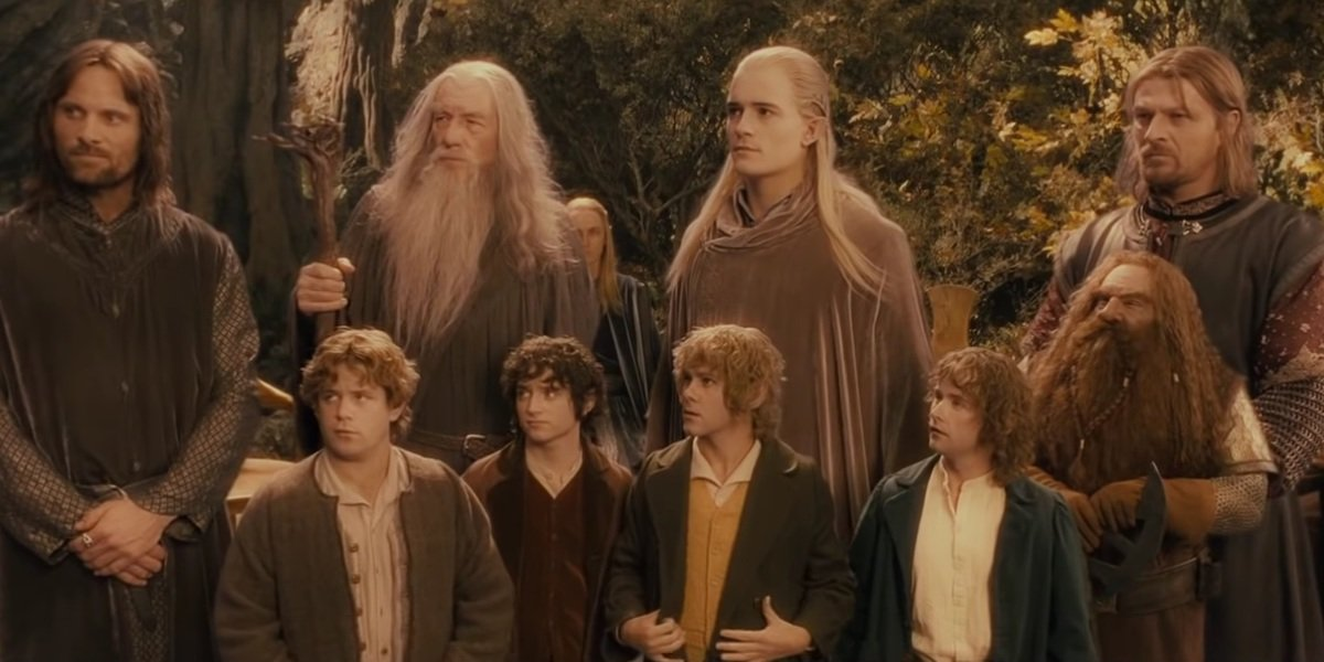 Lord of the Rings: The Fellowship of the Ring cast