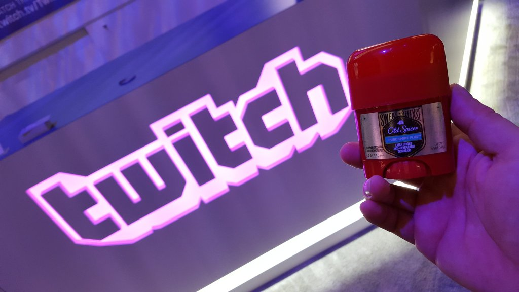 Twitch is handing out deodorant at PAX East