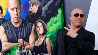 Vin Diesel at the Fast and Furious 9 premiere