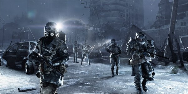 Ps4 Games Coming Soon : Metro redux coming soon will be p on ps only