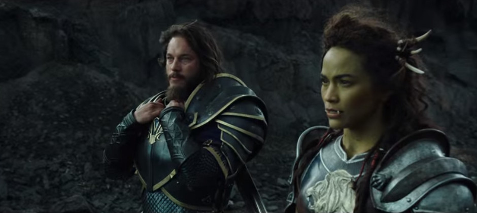New Warcraft Movie Trailer Shows Orcs And Humans Getting Along Also Fighting Gamesradar