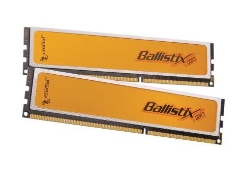 Crucial Ballistix PC3-16000 2,000MHZ