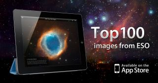 The ESO Top 100 Images app is a free iPad app that brings users a selection of the best astronomical images taken by ESO's ground-based astronomical telescopes from the Atacama Desert in Chile. Among the features of the app are captions and links for more
