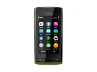 The new Nokia 500: fancy