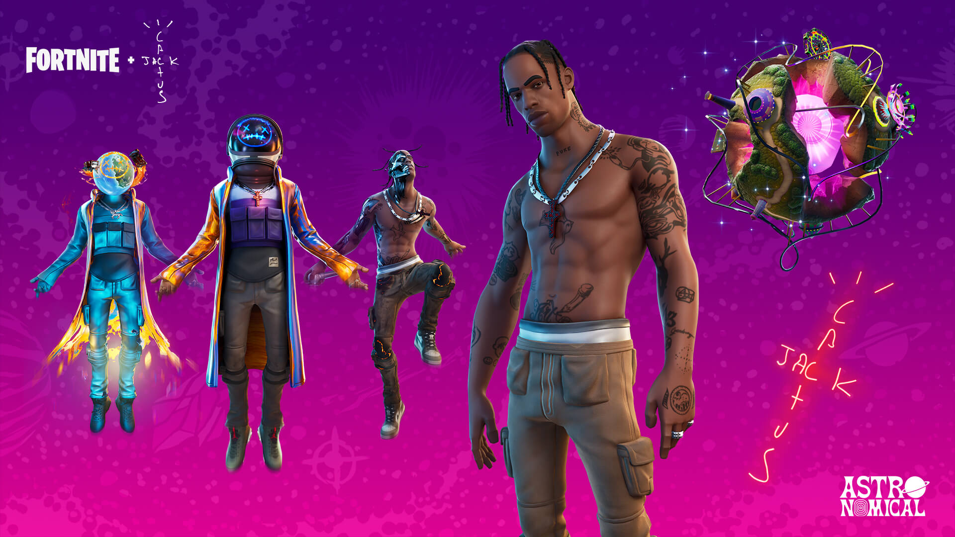 Travis Scott Will Launch Astronomical Into The Fortnite Frontier This Week Space