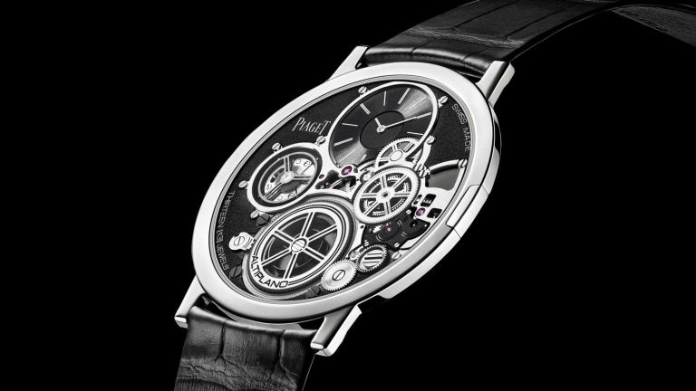 654afa697db This mechanical wristwatch from Piaget is the thinnest ever made