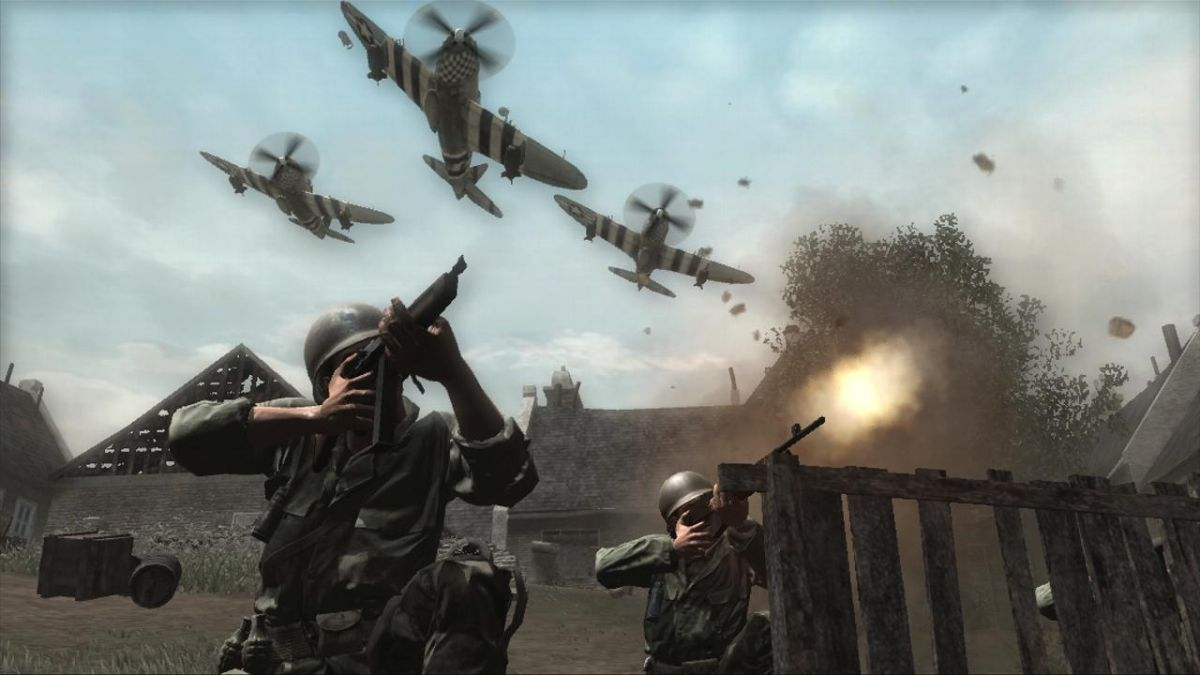 call of duty essay Call of duty® returns to its historical roots with call of duty®: world war ii, a blockbuster experience from sledgehammer games from the beaches of normandy to.