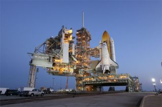 NASA Sets April 5 Launch Date for Shuttle Discovery