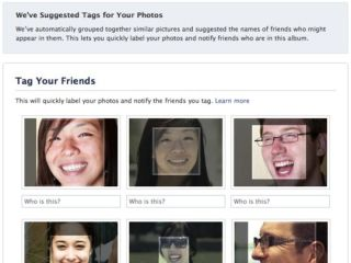 Face detection - it is called Facebook, after all