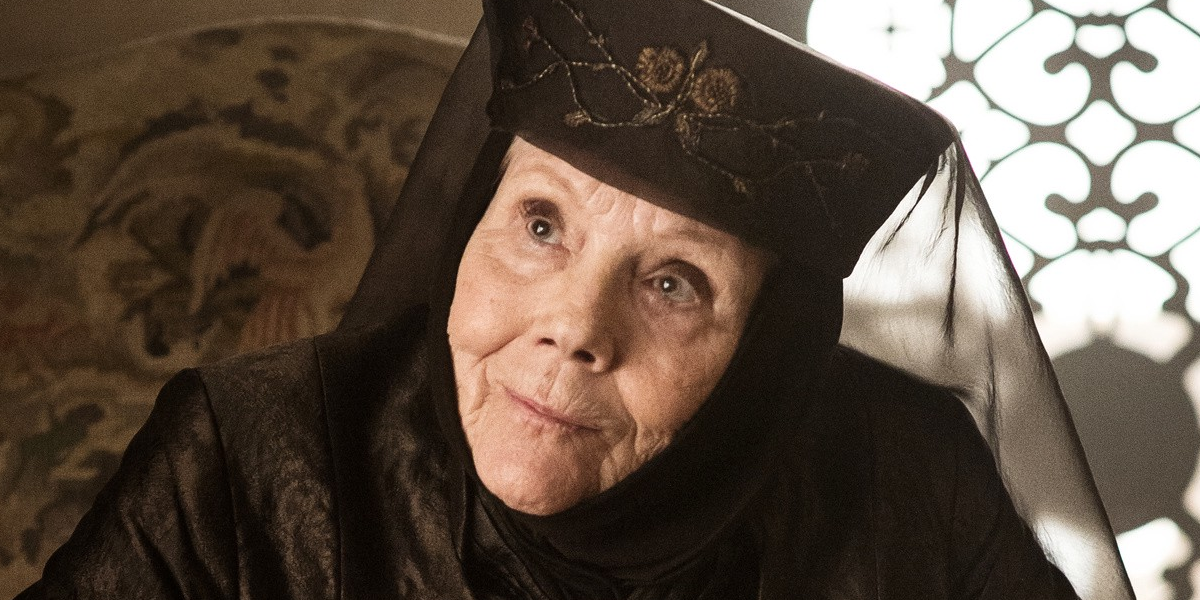 Game of Thrones Diana Rigg Olenna Tyrell HBO
