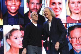 Jeffrey Katzenberg and Meg Whitman of Quibi