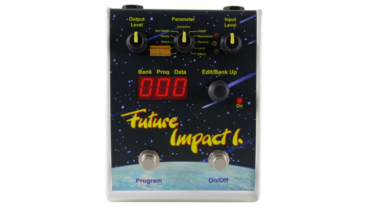 akai 39 s legendary deep impact bass guitar synth pedal is reborn as the panda audio future impact. Black Bedroom Furniture Sets. Home Design Ideas