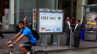 NYC Wifi booths