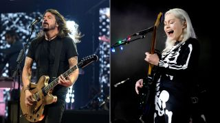 Dave Grohl and Phoebe Bridgers