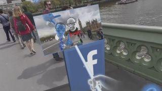 Facebook selfie stick