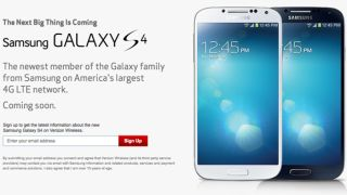 The Samsung Galaxy S4 release date for Verizon has been narrowed to May