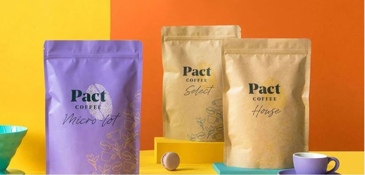 Shop for coffee at Pact Coffee