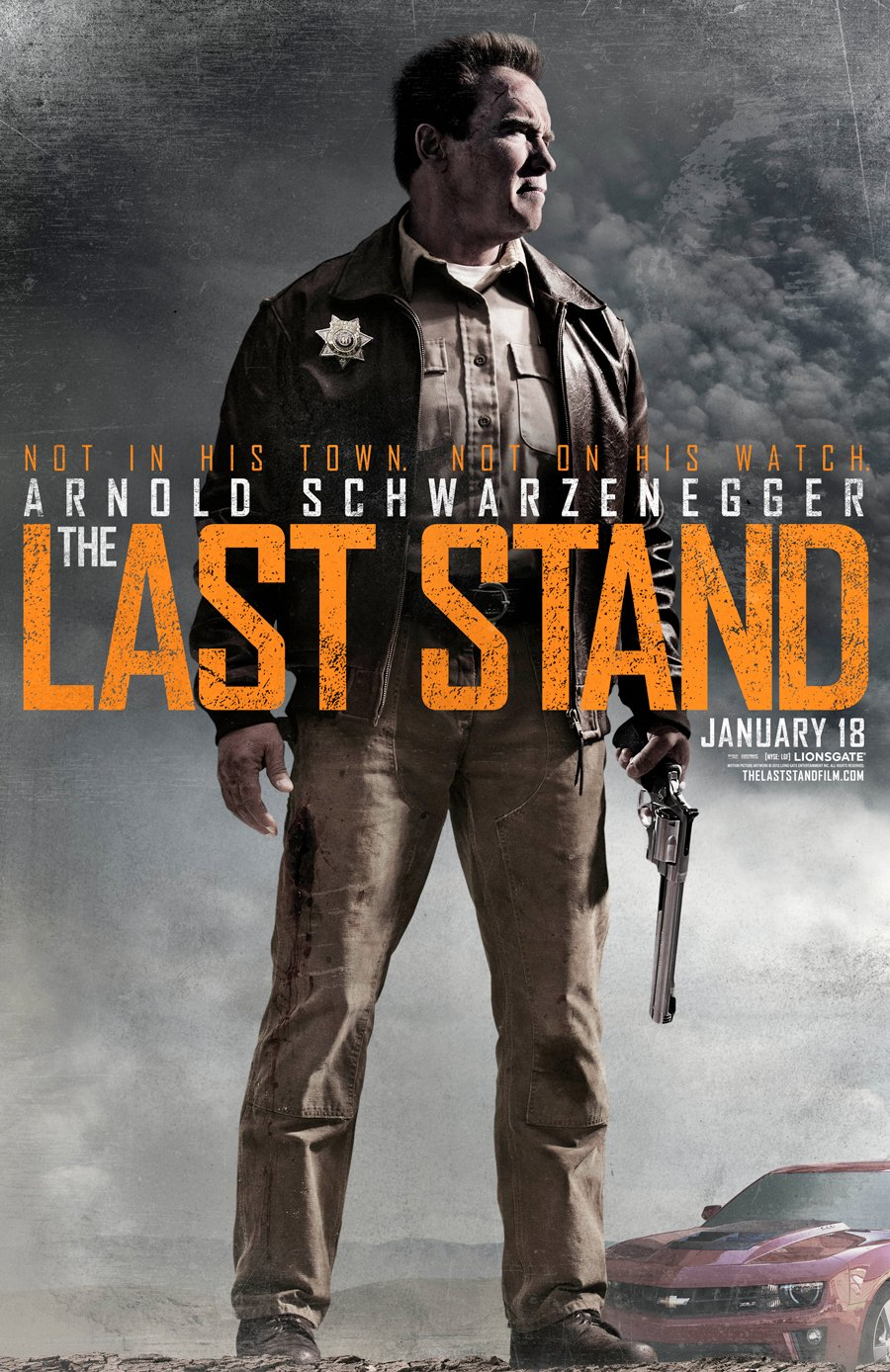 The Last Stand Giveaway: Win Posters, A T-Shirt, Arnold DVDs And More #6847