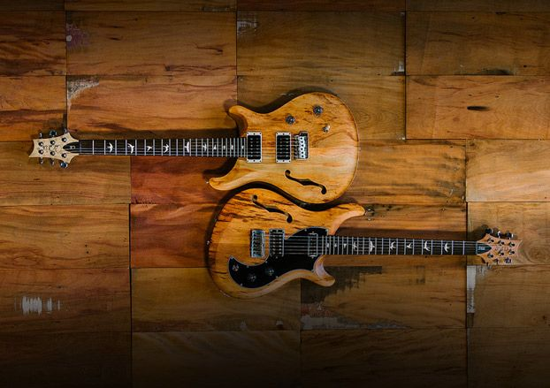 PRS Unveils Limited Edition Reclaimed Wood Guitars