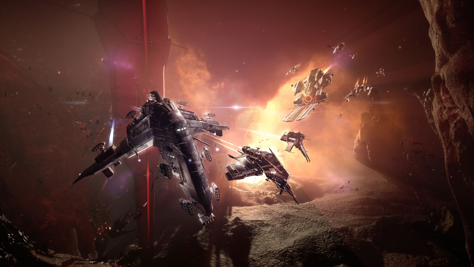 EVE Online's Starter Pack is free on Steam until April 12th | PC Gamer