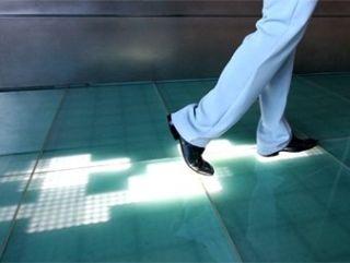 The Sensacell light up floor