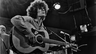 Tim Buckley with Guild 12-string acoustic
