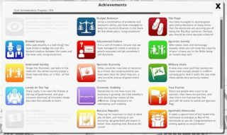 Democracy 3 Achievements