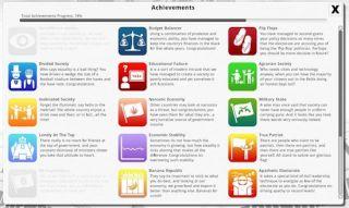 Democracy 3 Achievements