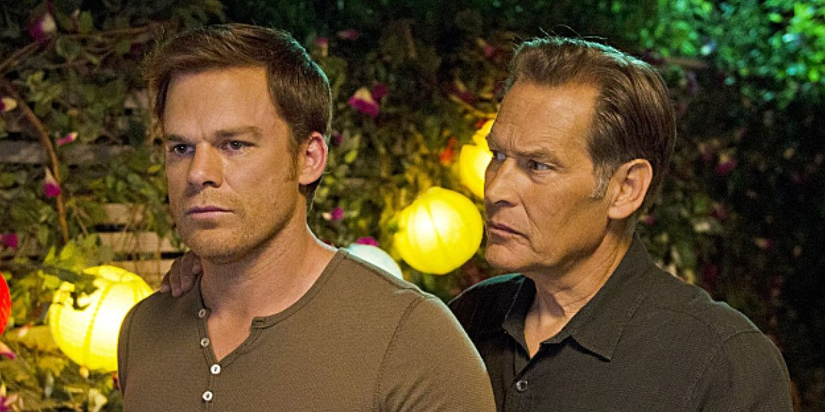 Michael C. Hall and James Remar on Dexter