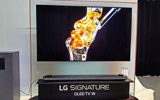 Lg Oled W8 Hands On The Wallpaper Tv Gets Smart Tom S Guide