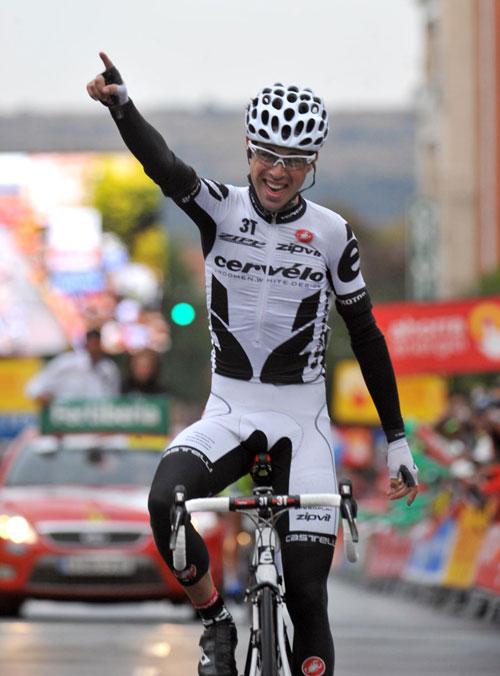 Philip Deignan, Vuelta a Espana 2009, stage 18