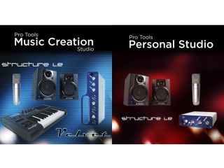 There are two bundles on offer both based around Pro Tools LE 7 4