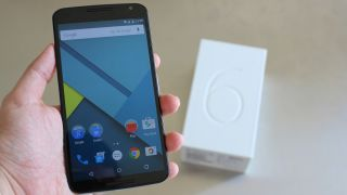 Nexus 6 running Android Lollipop