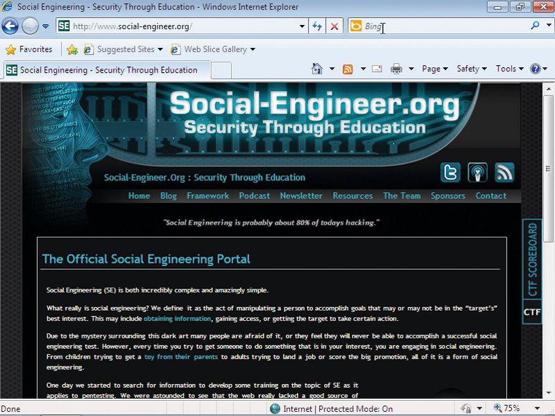 www social engineer org