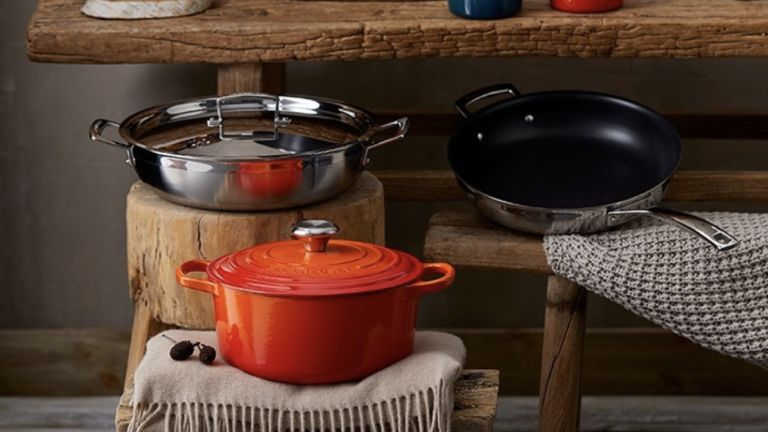 Le Creuset stainless steel pan set review