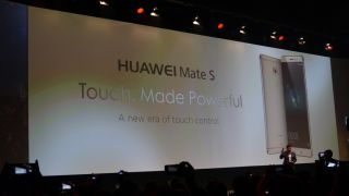 Huawei Mate S wants you to touch it in a different way