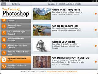 Teach Yourself Photoshop app