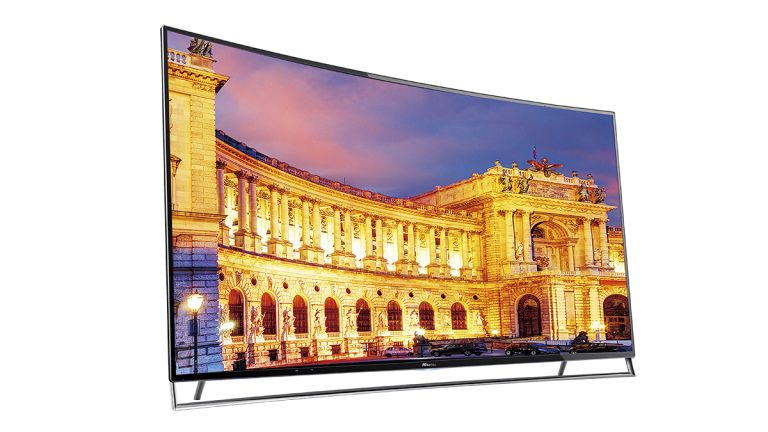 Hisense Shows Off The First Uled Tv 65 Inches Of Curved Beauty T3