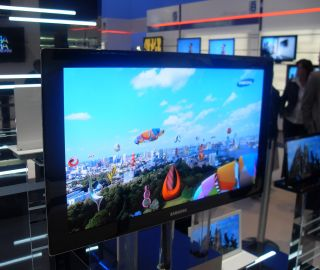 CES 2009: Samsung 31-inch OLED TV prototype