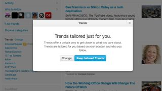 Twitter gets personal with Tailored Trends