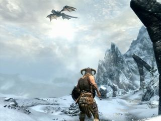 Skyrim nabs number one games slot for Christmas